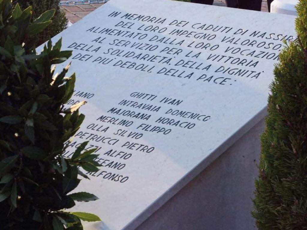 12 novembre - Caduti di Nassiriya