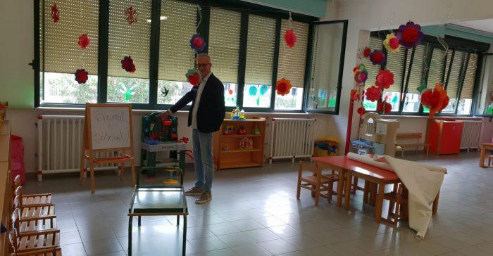 Il Sindaco Ciarapica nella scuola Don Bosco