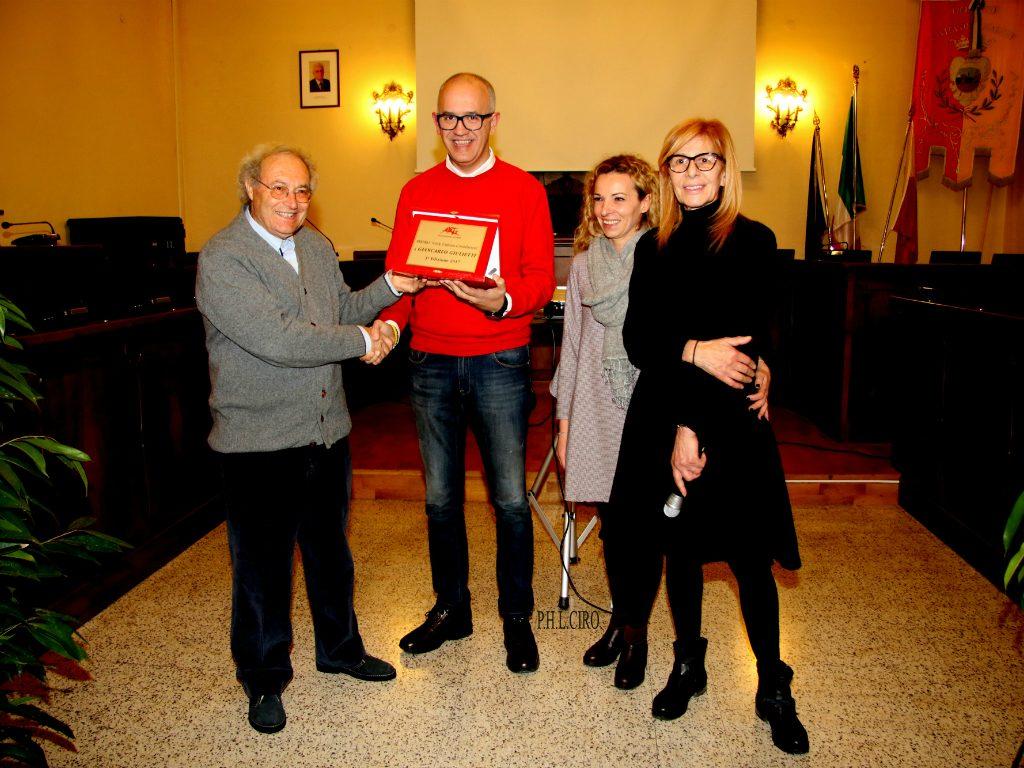 Premio a Giulietti dall'associazione Arte