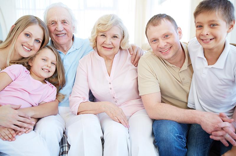 Immagine di una famiglia
