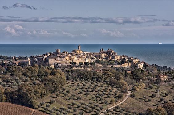 Panoramica di Civitanova Marche