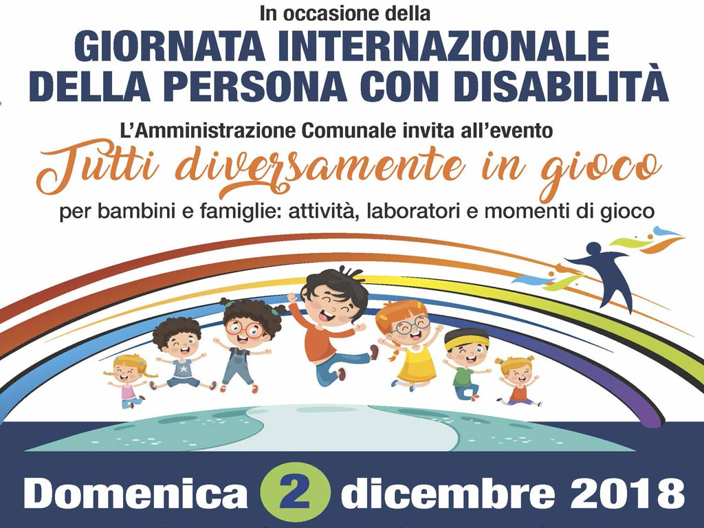 Giornata Internazionale della persona con disabilità