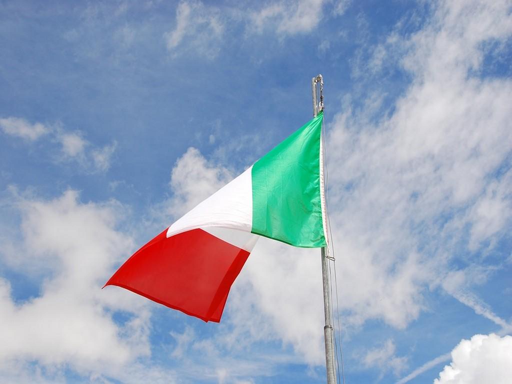 Bandiera dell'Italia - Celebrazioni 25 aprile